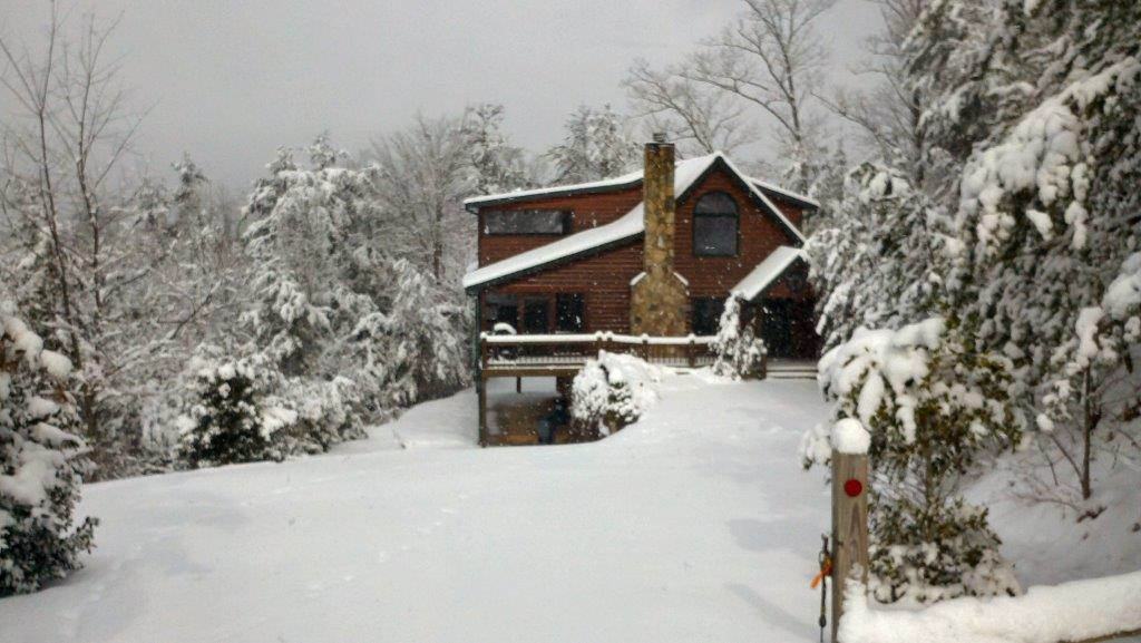 My Mountain Cabin Rentals Winter Snow